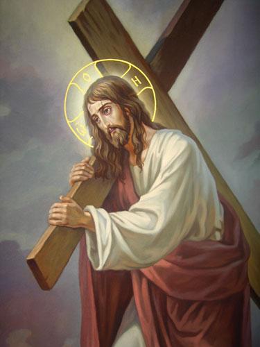 Несение креста - деталь