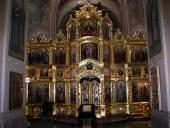 Иконостас-общий вид из храма