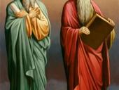 Апостолы Андрей и Иоанн