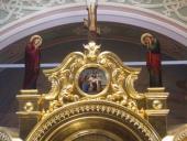 Распятие - навершие иконостаса