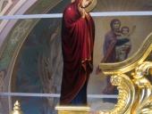 Икона Богородицы - Распятие