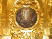 Икона Преображения в иконостасе