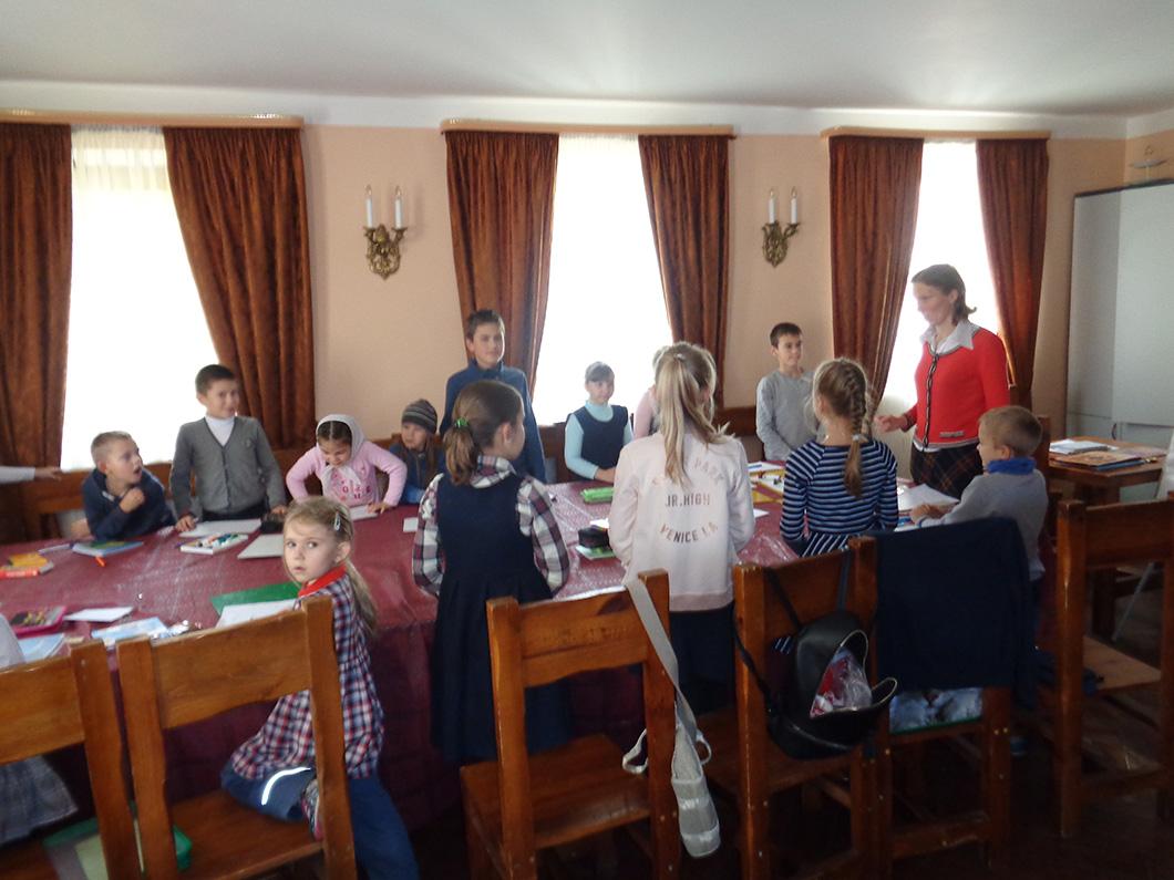8 октября при Уаровском храме начала работу Воскресная школа