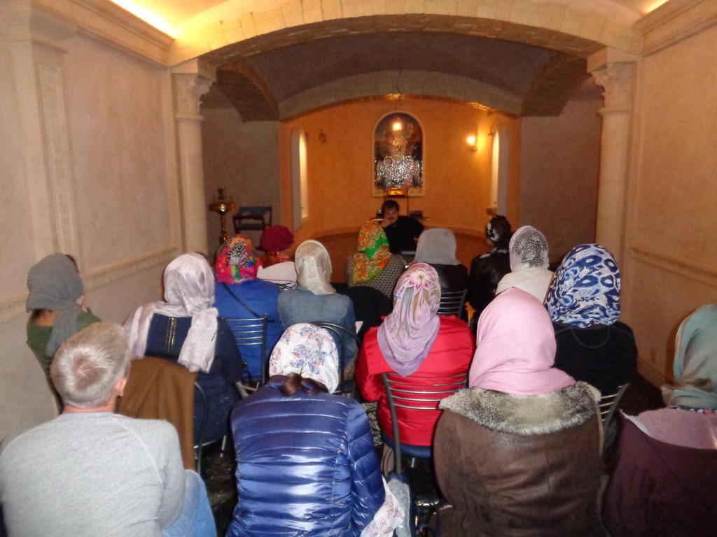 8 октября в храме св. мч. Уара открылся «Библейско-богословский университет»