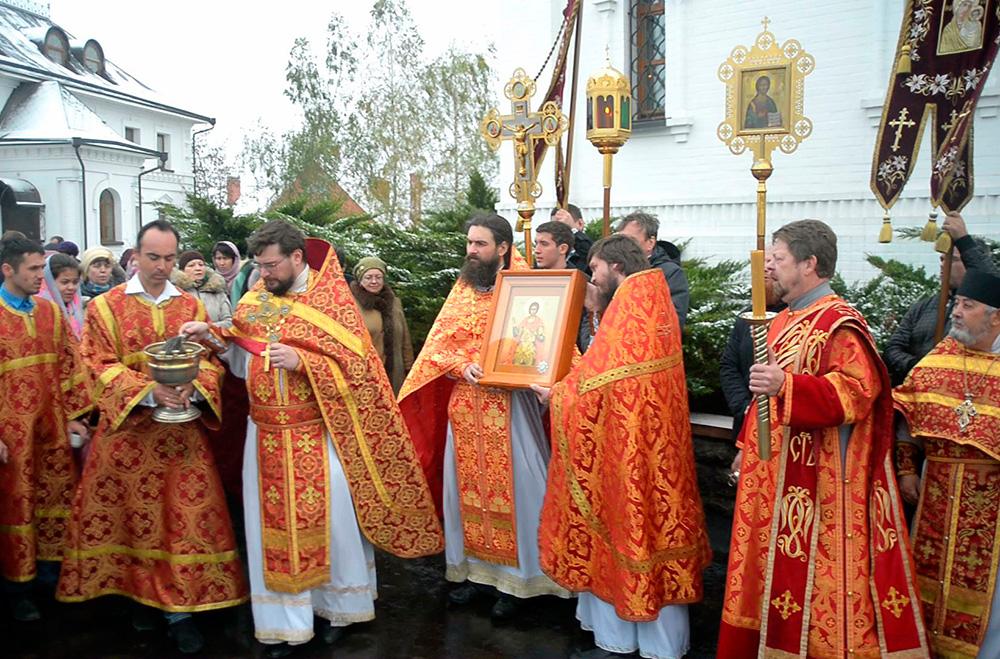 1 ноября 2017 года – Престольный праздник храма св. мч. Уара