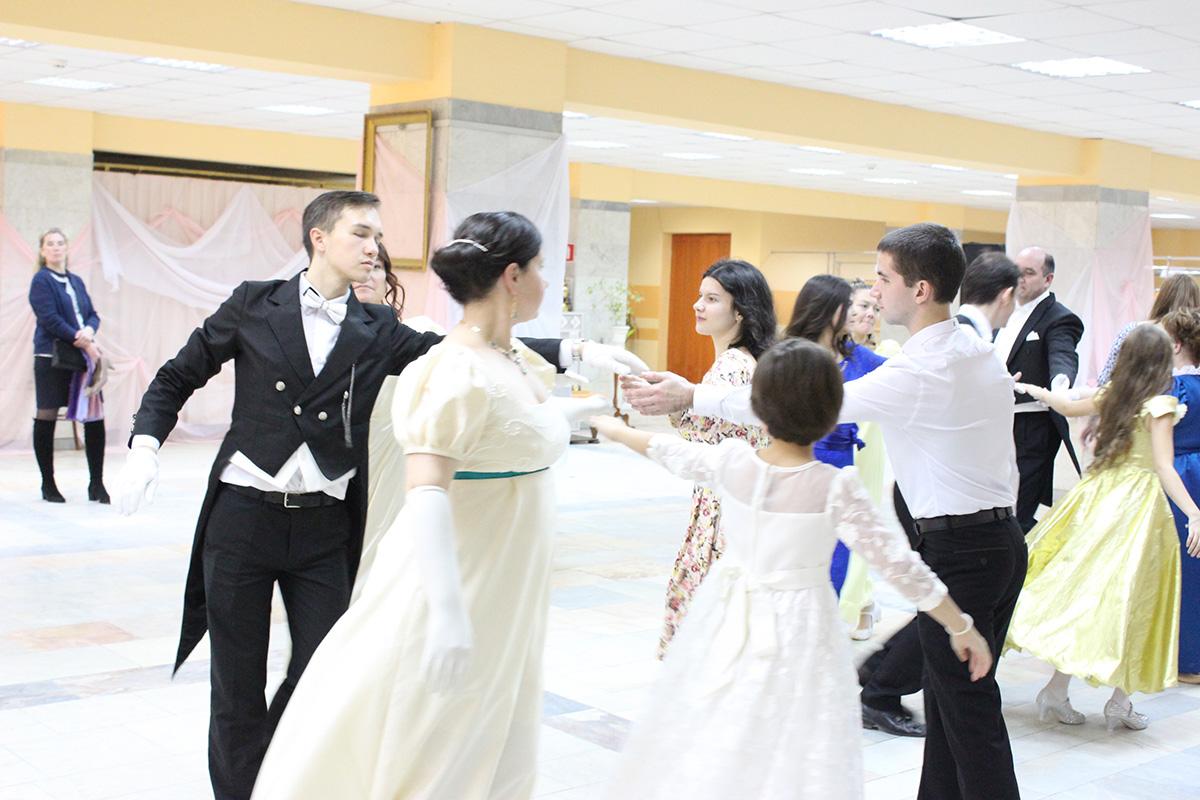 5 ноября в Мытищинском Дворце молодежи состоялся Покровский бал