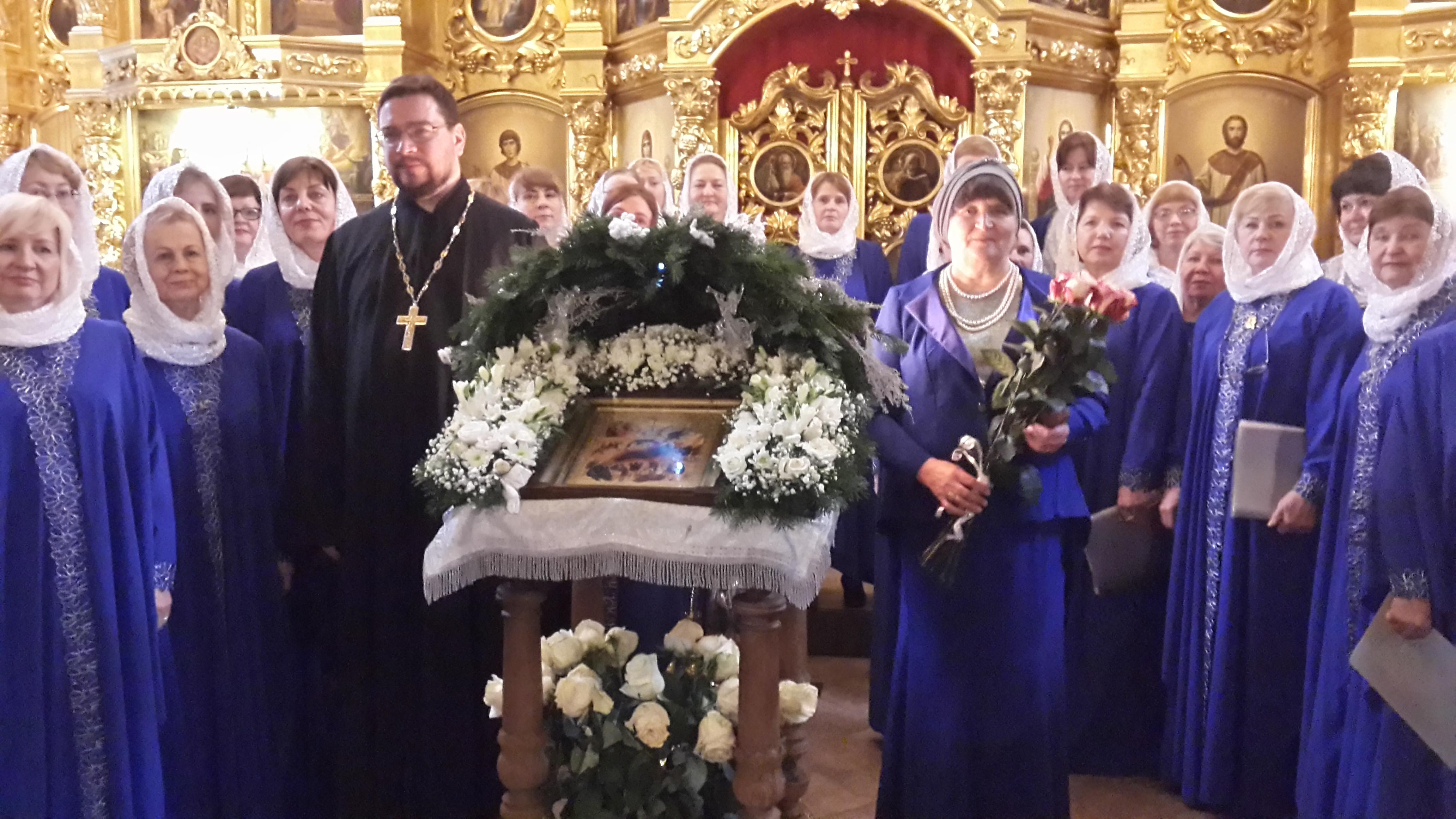 Рождественский концерт в Уаровском храме пос. Вешки