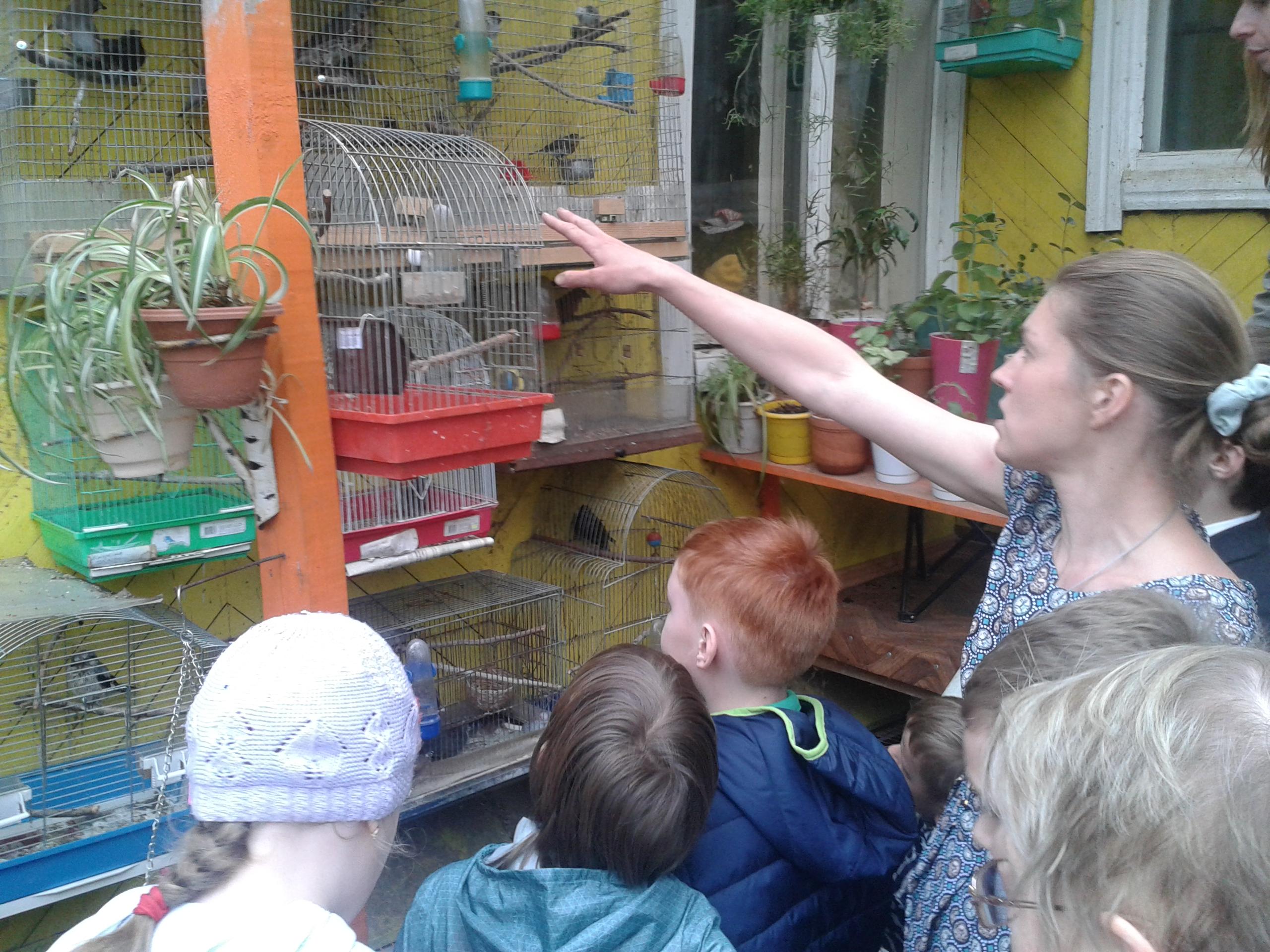 Экологический урок – экскурсия в воскресной школе при Уаровском храме