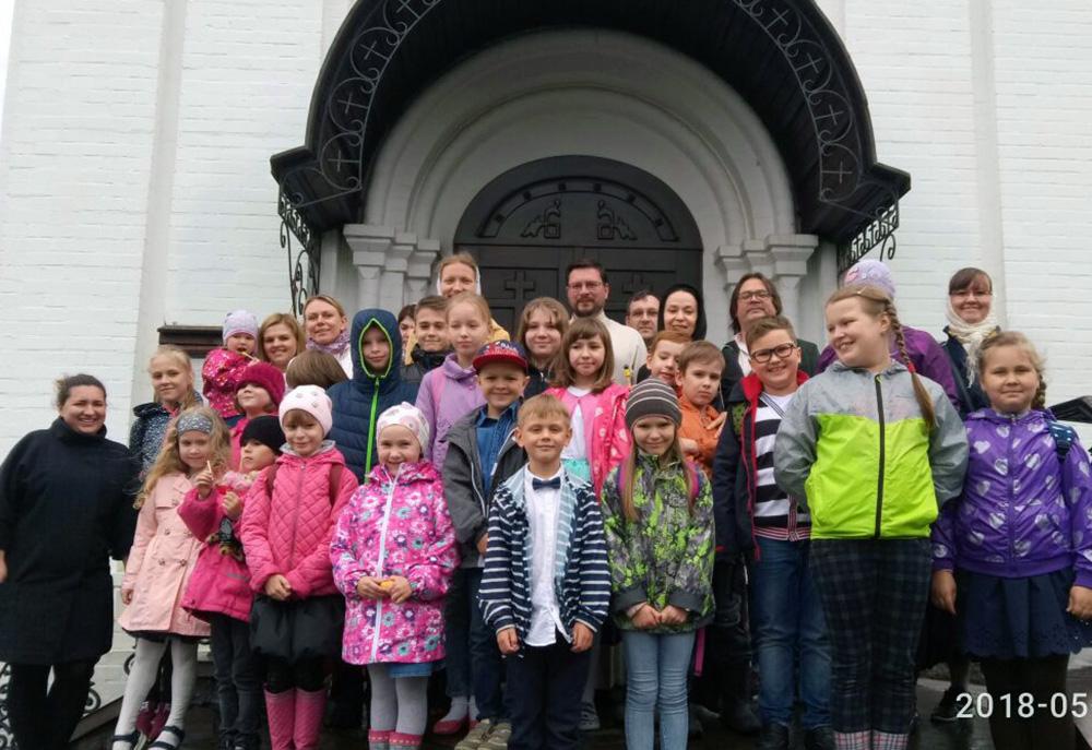День славянской письменности в воскресной школе Уаровкого храма