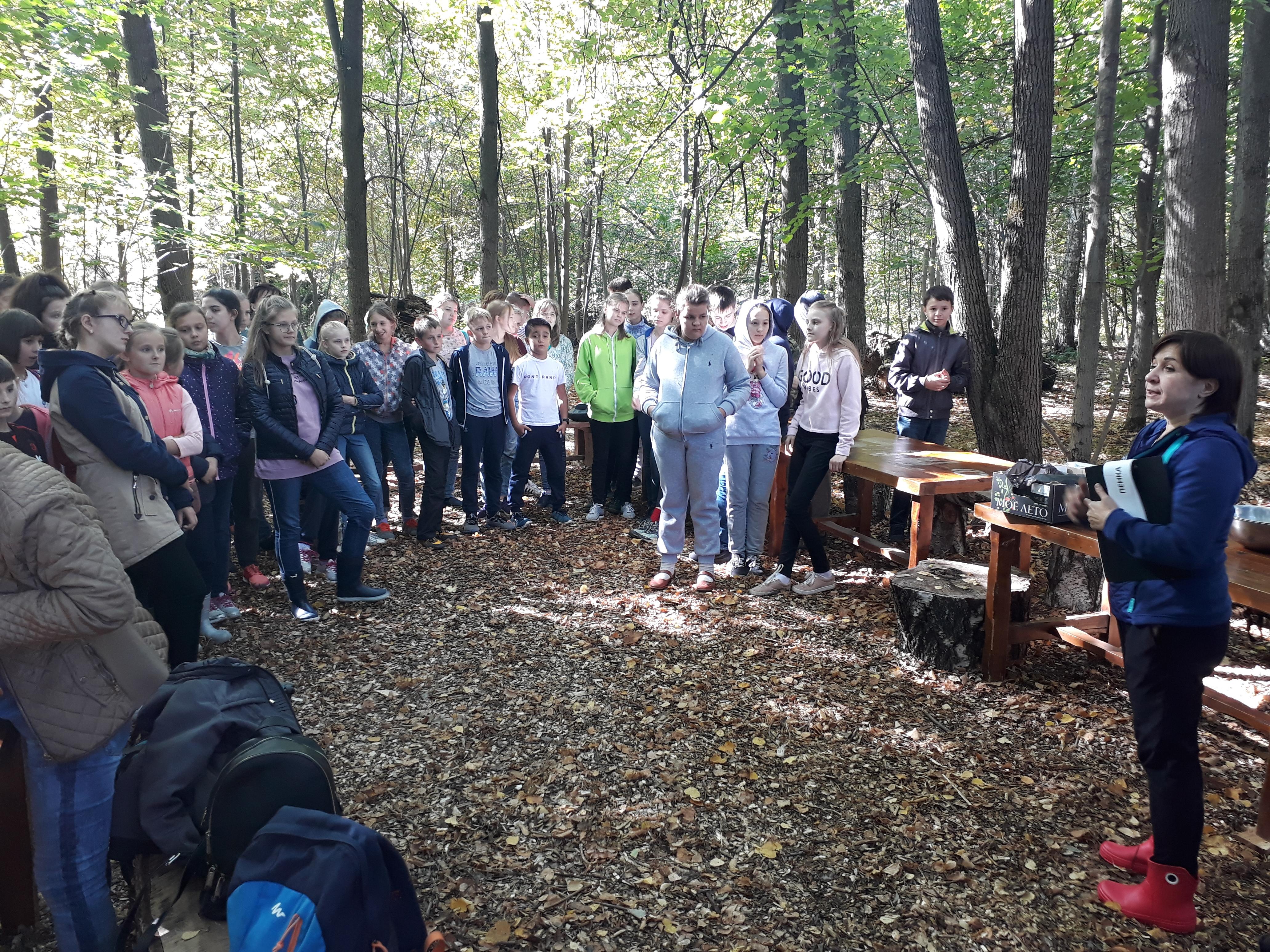 Молодежный эколого-туристический слет в Вешках