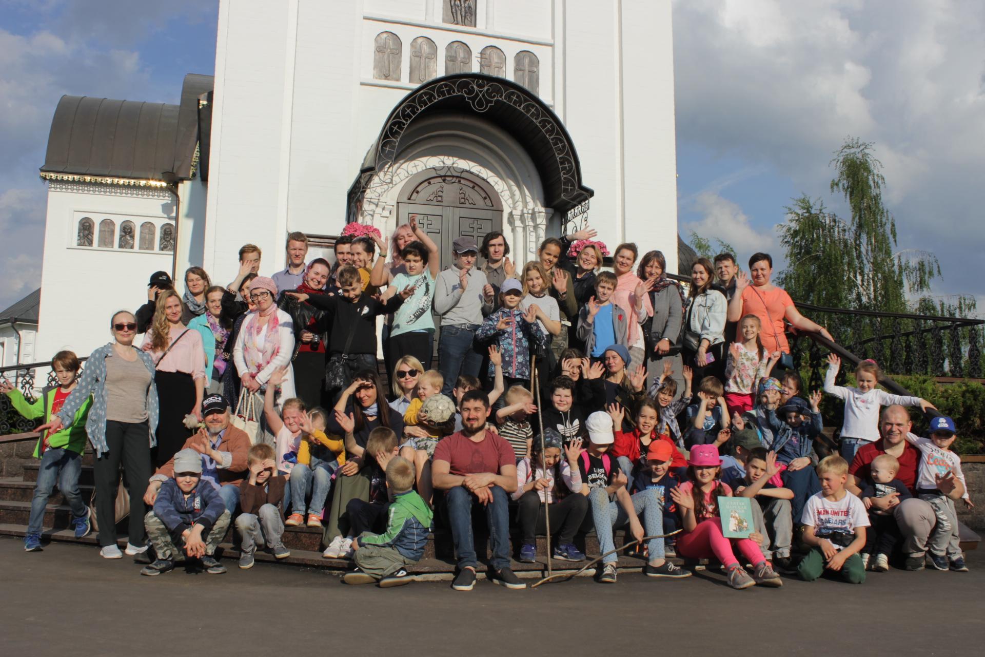 Завершение учебного года на приходе храма Св. мч. Уара в Вешках