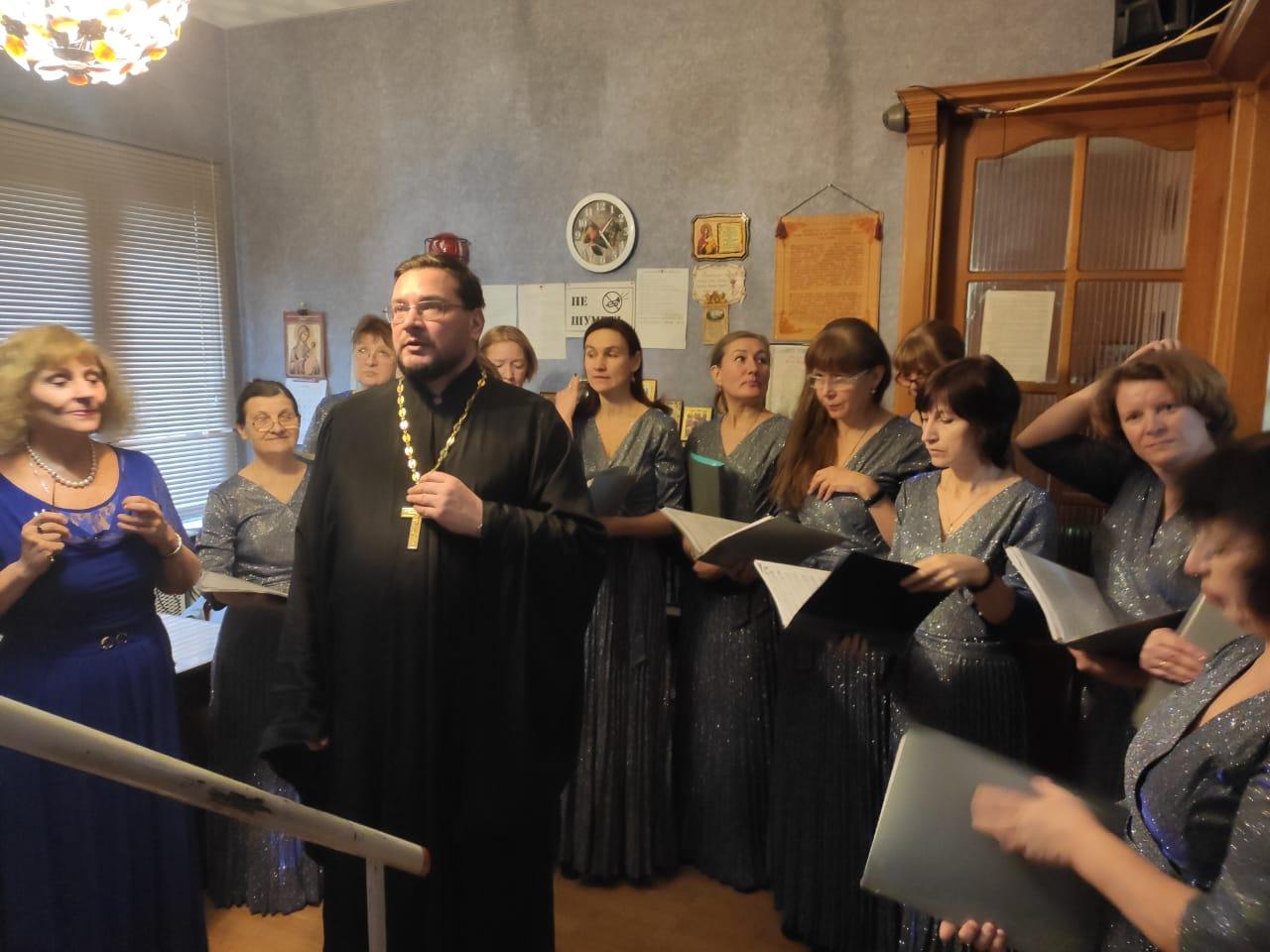 Праздничный концерт в доме трудолюбия «Ной»