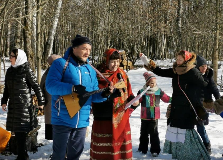 Прощеное воскресенье и праздник Масленицы на приходе Св. мч. Уара