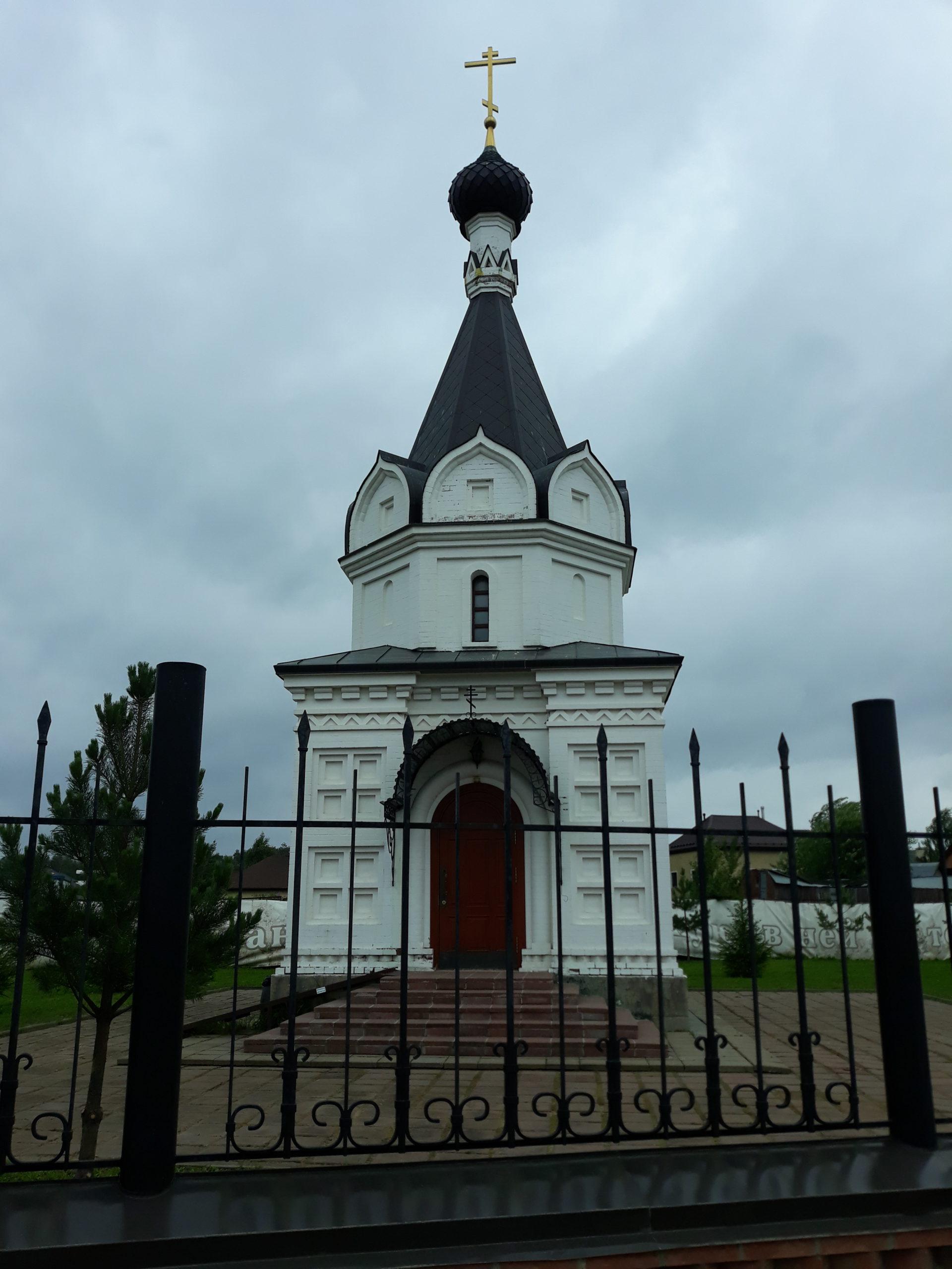 Часовня в честь Успения Пресвятой Богородицы находится рядом с кладбищем в посёлке Вешки и приписана к храму святого мч Уара. Часовня открыта ежедневно, кроме зимнего периода, еженедельно по субботам в 11.00 утра в ней совершаются панихиды