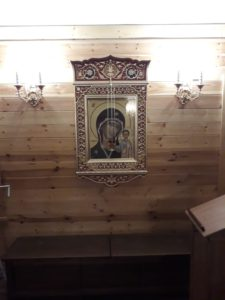 Казанская икона Богородицы. Ильинский храм