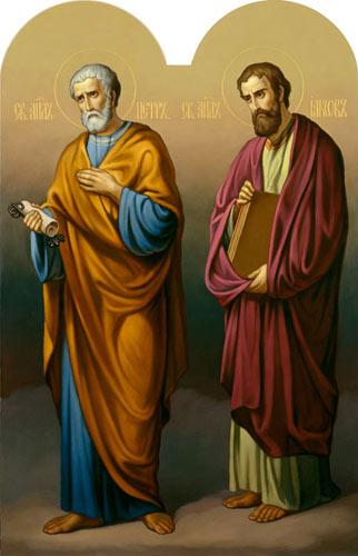 Апостолы Пётр и Иаков