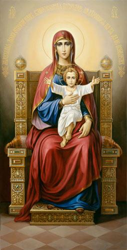 Икона Богоматери с Младенцем