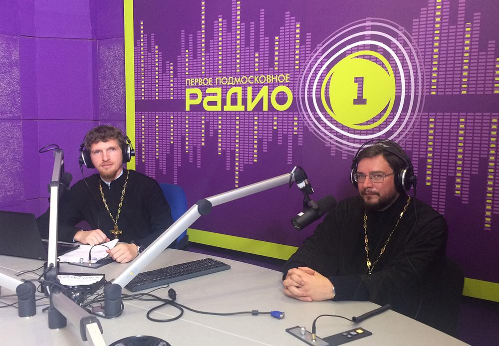 Настоятель Уаровского храма протоиерей Олег Мумриков выступил в передаче «Свете тихий» на «Радио-1»