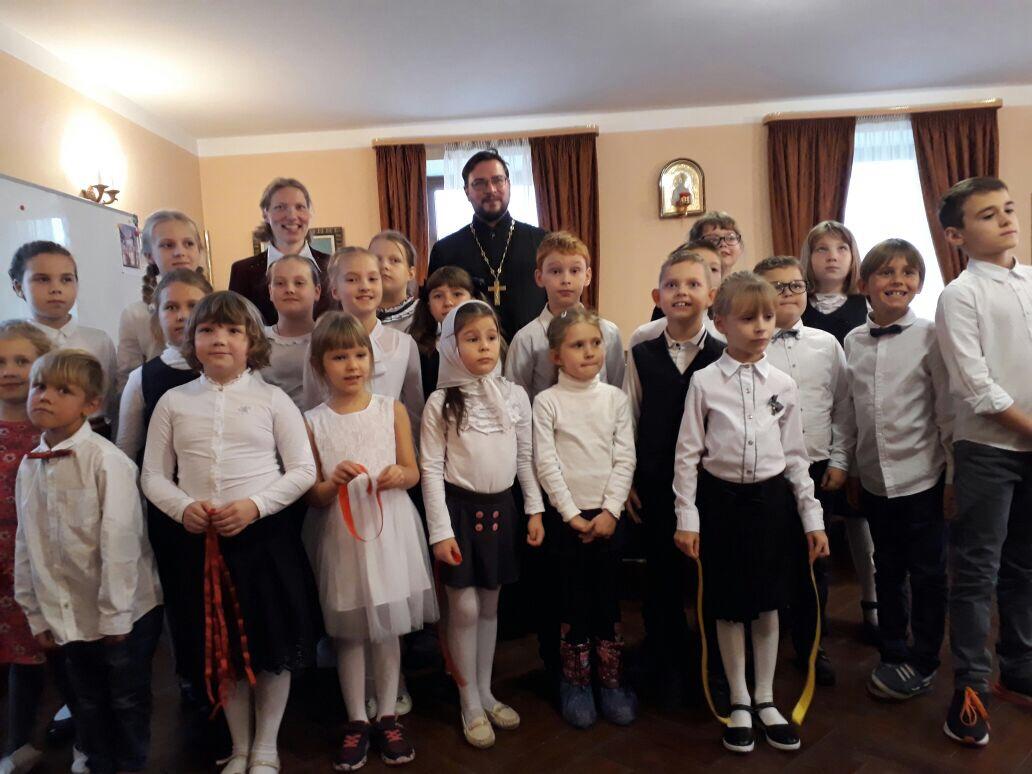 12 ноября в воскресной школе Храма прошел День Матери