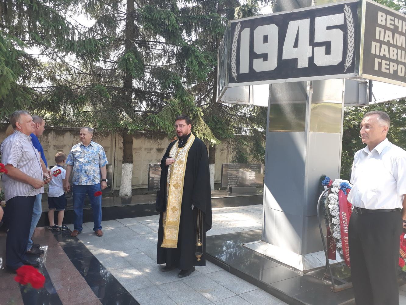 День Памяти и скорби в поселке Вешки