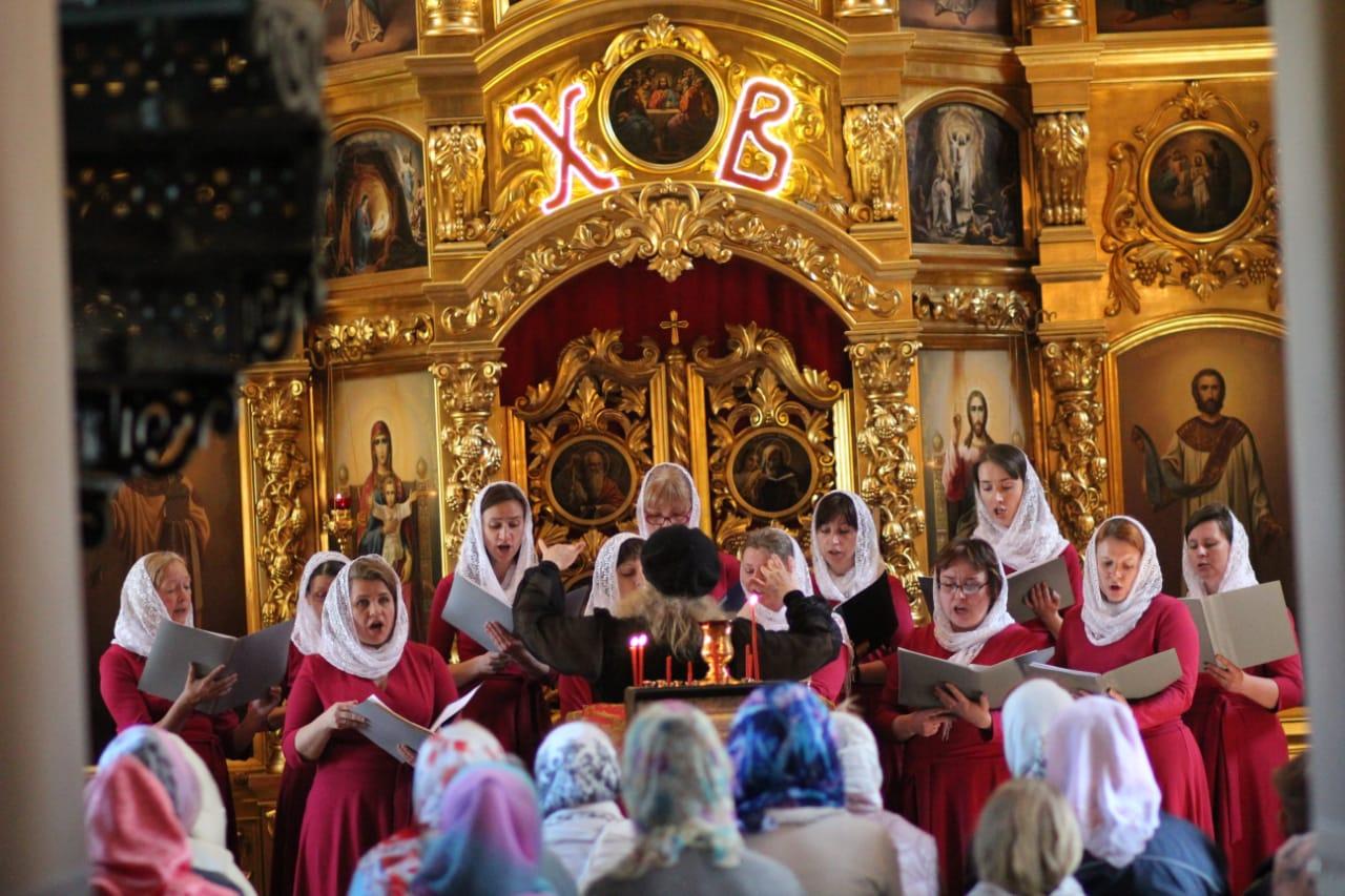 Праздничный пасхальный концерт в Вешках