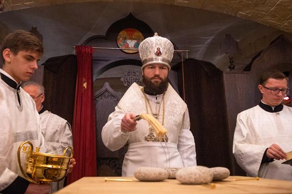 Великое освящение придела св. Иоанна Русского и открытие приходского экопарка