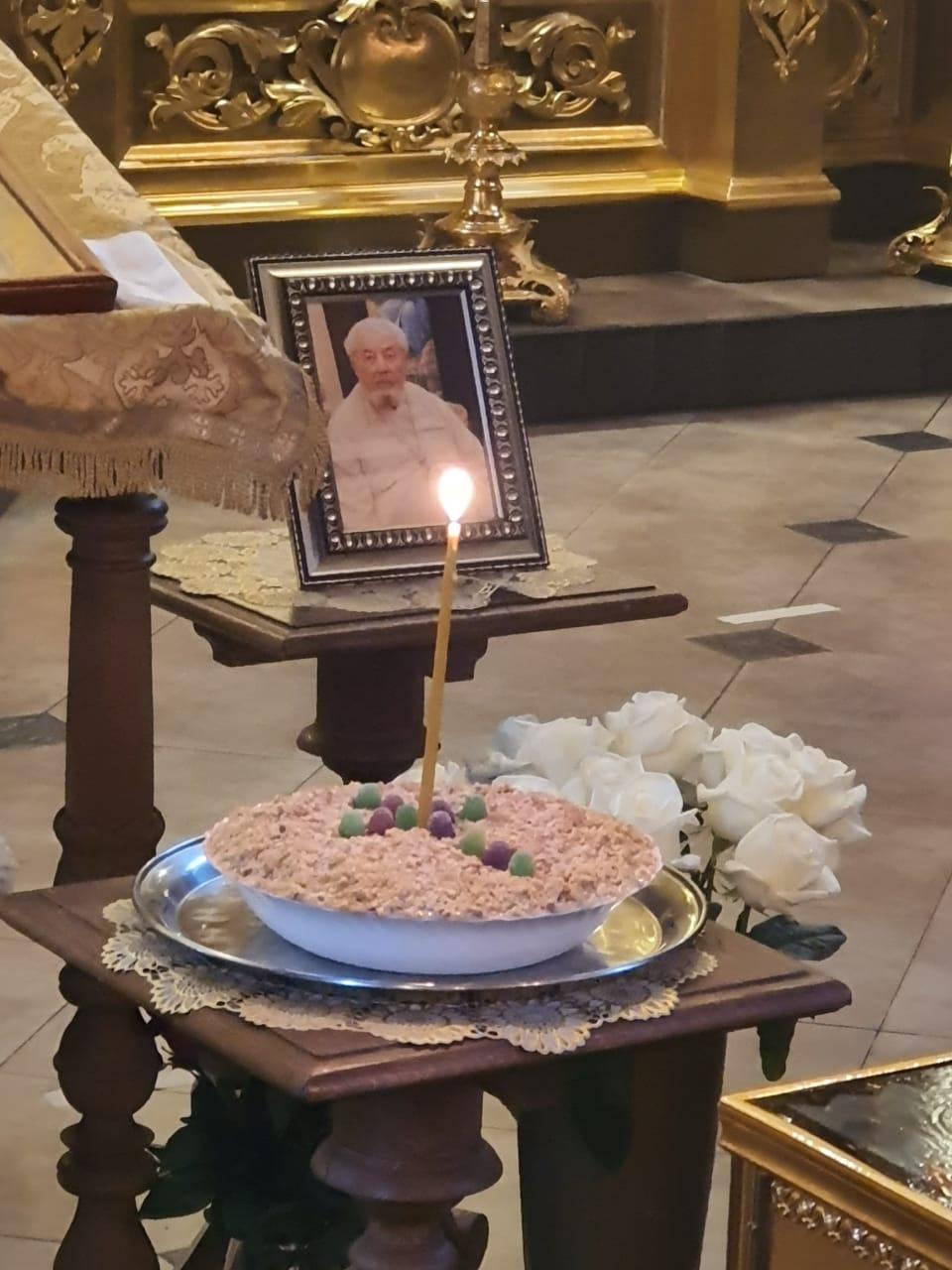 Сорок дней памяти новопреставленного протоиерея Василия Бланковского
