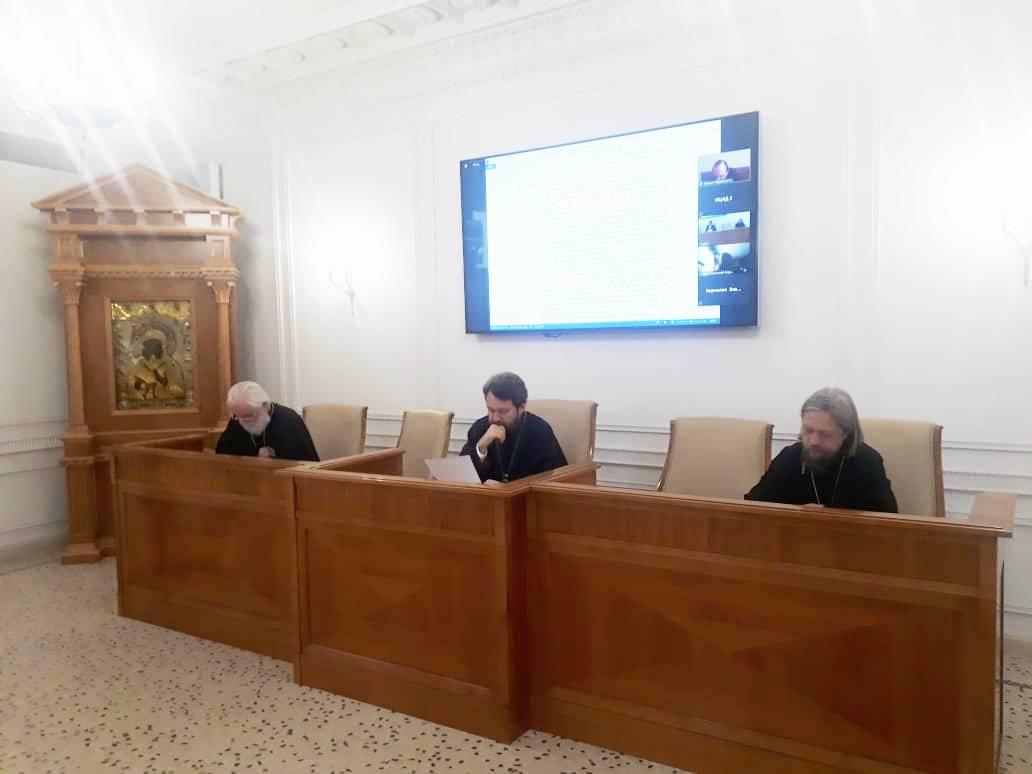 Настоятель храма Св.мч. Уара принял участие в заседании Комиссии по богословию и богословскому образованию Межсоборного присутствия Русской Православной Церкви