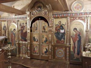 Иконостас Ильинского храма