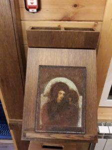 Казанская икона Матери Божией, обретенная в земле при строительных работах