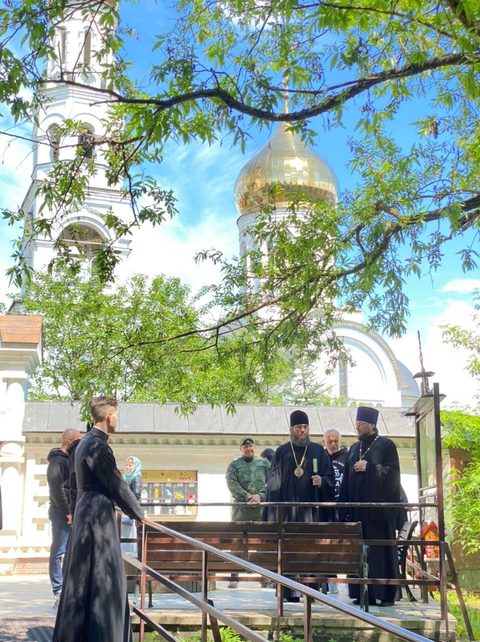Рабочий визит епископа Сергиево-Посадского и Дмитровского Фомы