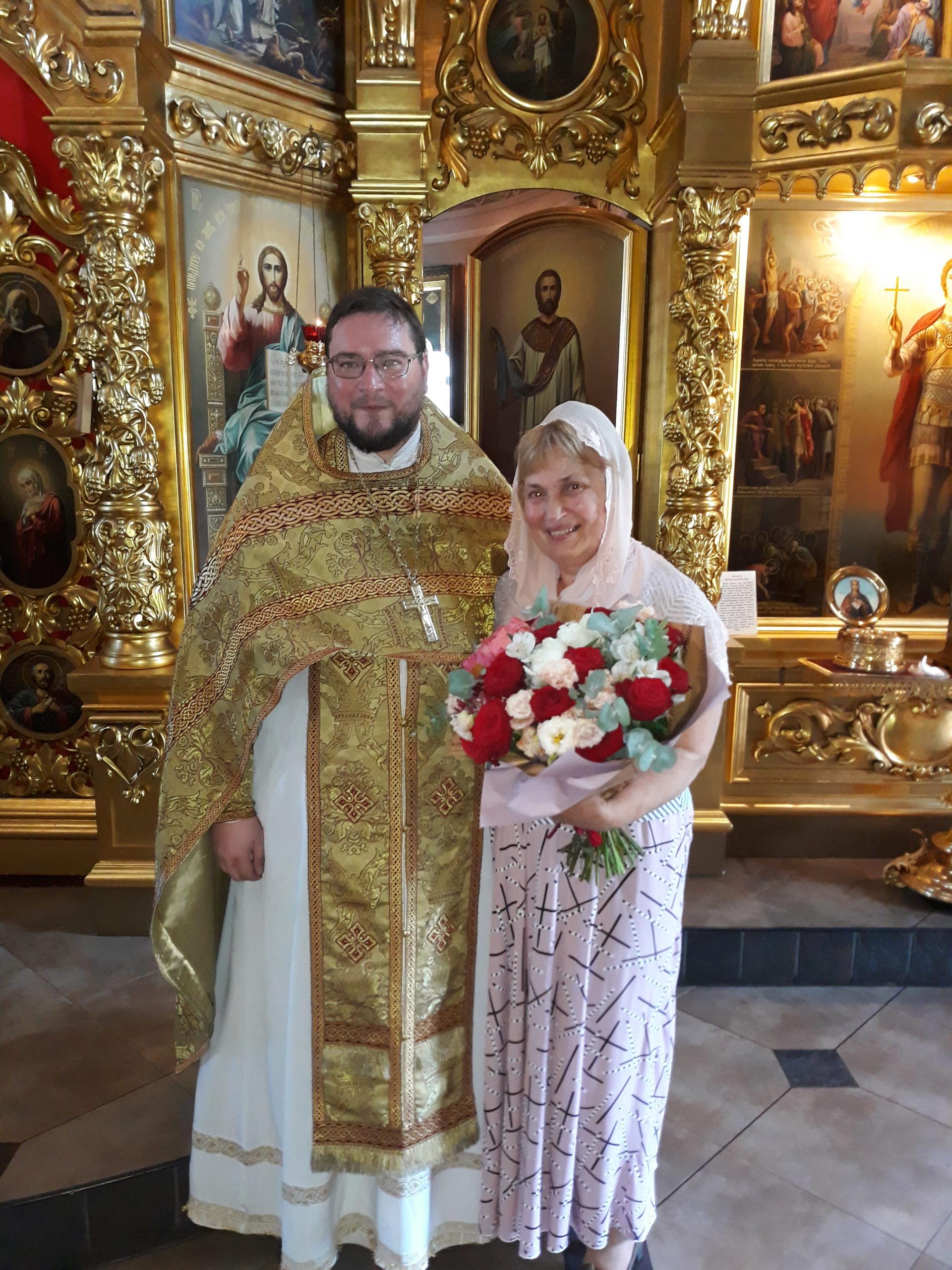 Труженица нашего храма Мария Григорьевна Борсуковская празднует Юбилей!