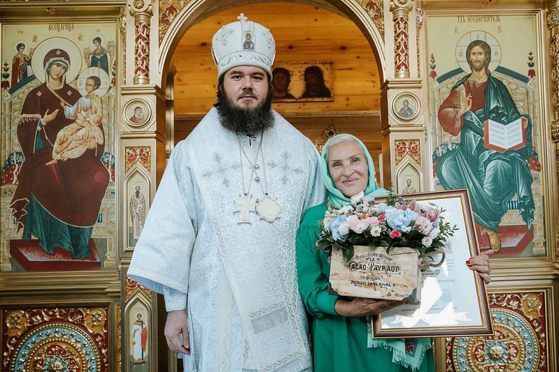 Поздравляем одну из почтенных прихожанок Уаровского храма с Юбилеем!